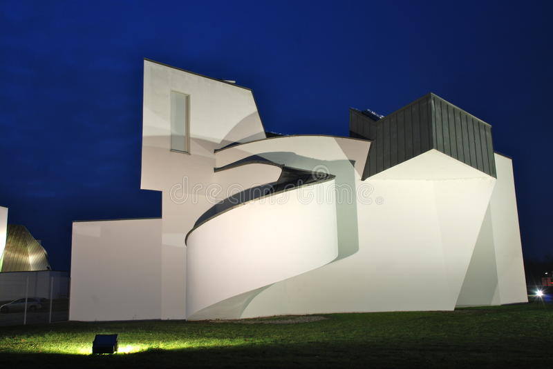 Vitra Design Museum by Frank Gehry. The Vitra Design Museum is an internationally renowned, privately owned museum for design in Weil am Rhein, Germany. The royalty free stock image