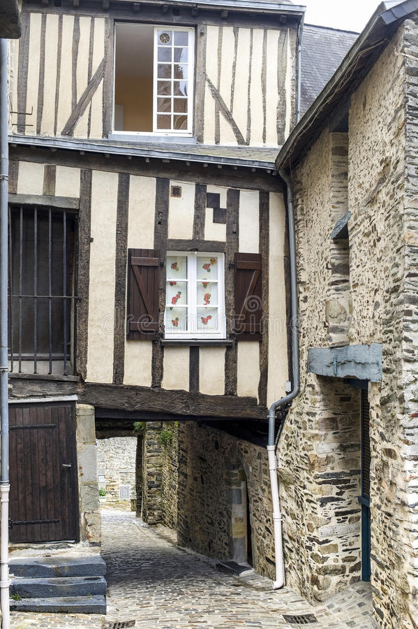 Download Vitre, Brittany stock photo. Image of ancient, vertical - 26899040