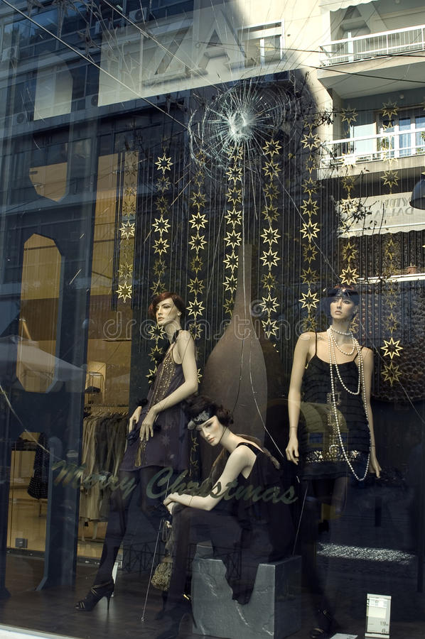 vitrine obrazy stock