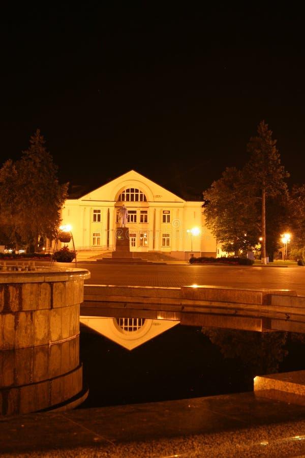 Vitryssland monument och nationella symboler av WoÅ 'kowysk royaltyfria bilder