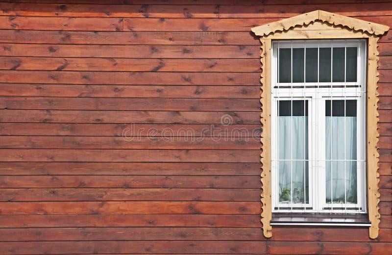 vitt fönster royaltyfria bilder