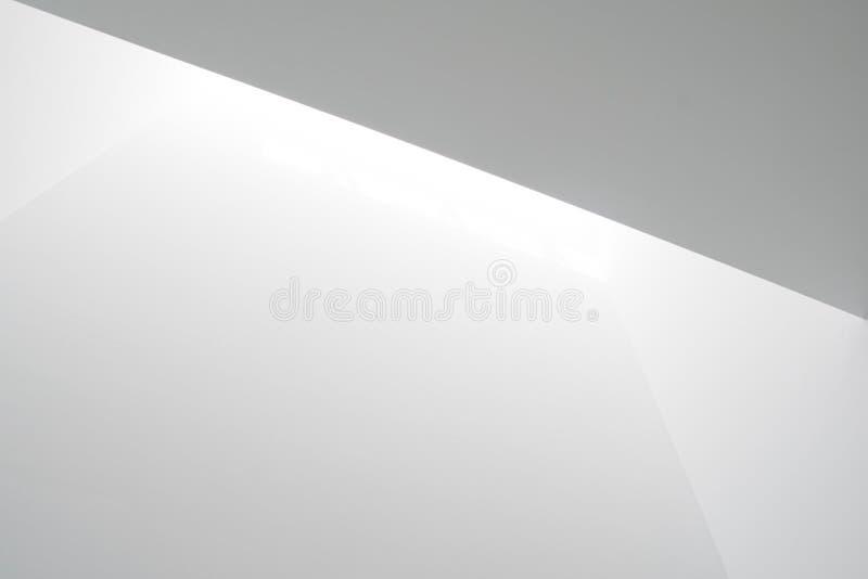 Vitt ljus på väggar royaltyfri foto