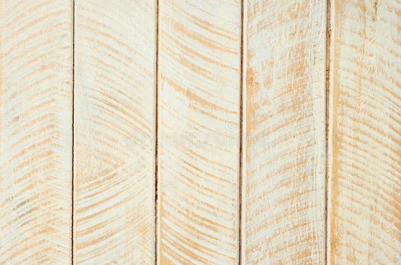 Vitt och brunt tr? f?r tappningm?lningdesignen texturerade upp bakgrund, detaljyttersidaslut arkivfoton