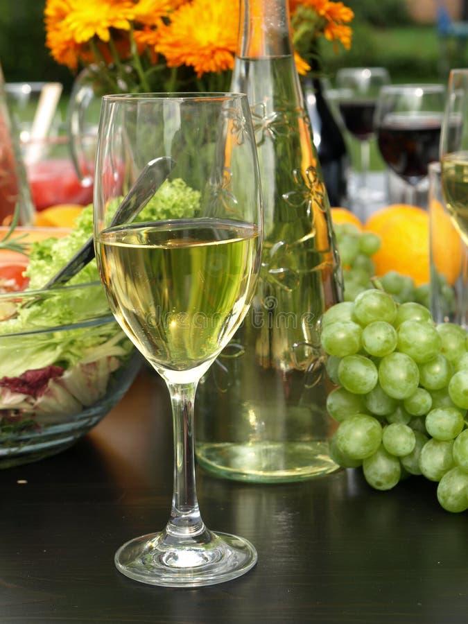 Vitt vin royaltyfri fotografi