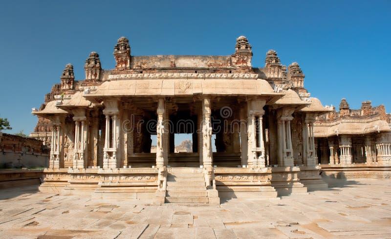Vittala Hindu temple in Hampi. A UNESCO World Heritage Site, Karnataka, India royalty free stock photography