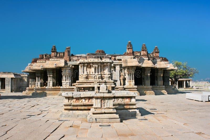 Vittala Hindu temple in Hampi. A UNESCO World Heritage Site, Karnataka, India royalty free stock image