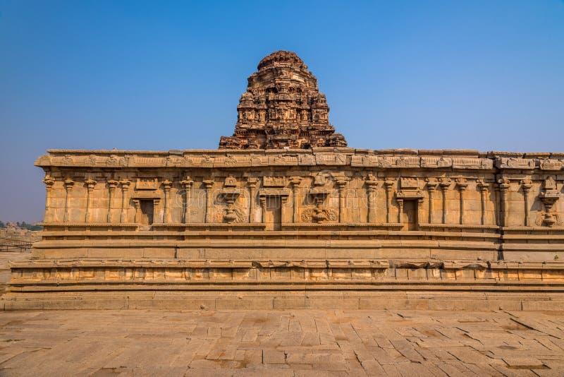 Vittala temple in Hampi stock images