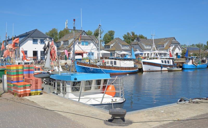Vitte, Hiddensee, mar Báltico, Alemanha imagem de stock