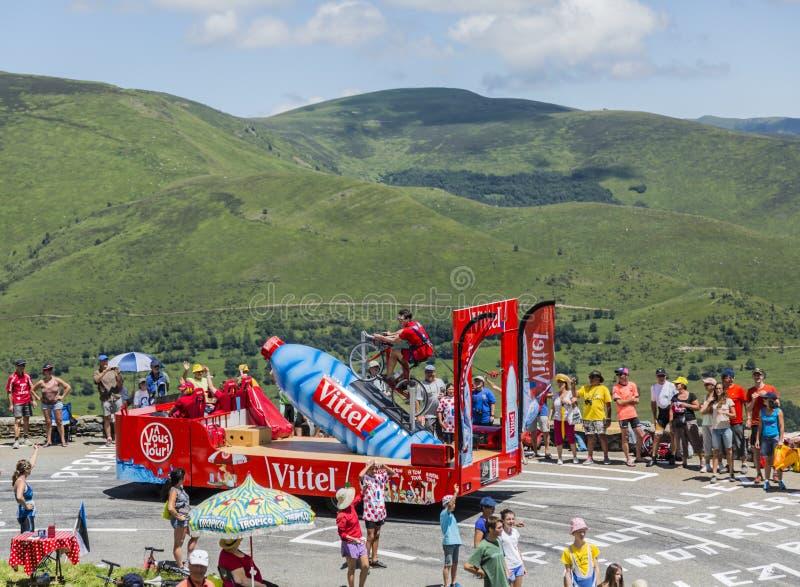 Download Vittel Vehicle - Tour De France 2014 Editorial Photography - Image: 97373882