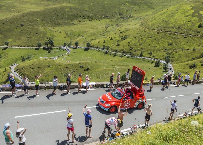 Download Vittel Vehicle - Tour De France 2014 Editorial Photo - Image: 97373916