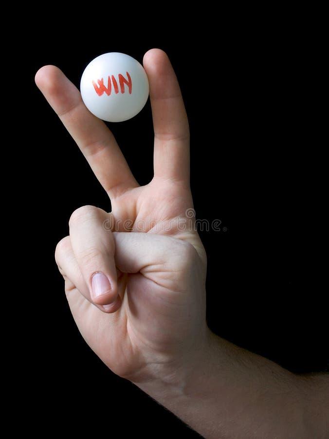 Vittoria - vincitore di lotteria fortunato immagini stock libere da diritti