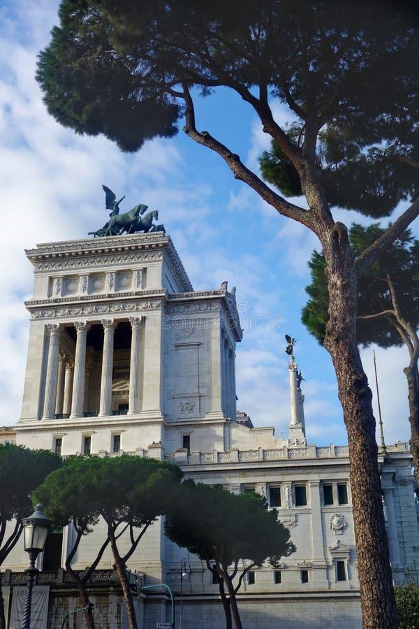 Vittoriano Altar Fatherland Rome Italy royaltyfri bild
