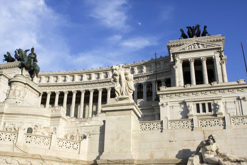 Vittoriano (Monument Vittorio Emanueles II) in Rom lizenzfreies stockbild