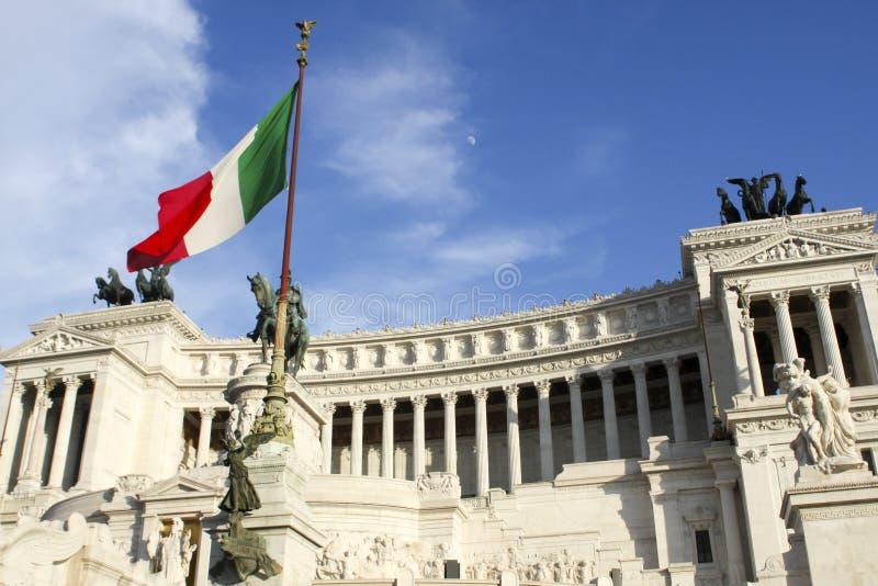 Vittoriano (Monument Vittorio Emanueles II) in Rom lizenzfreie stockfotografie