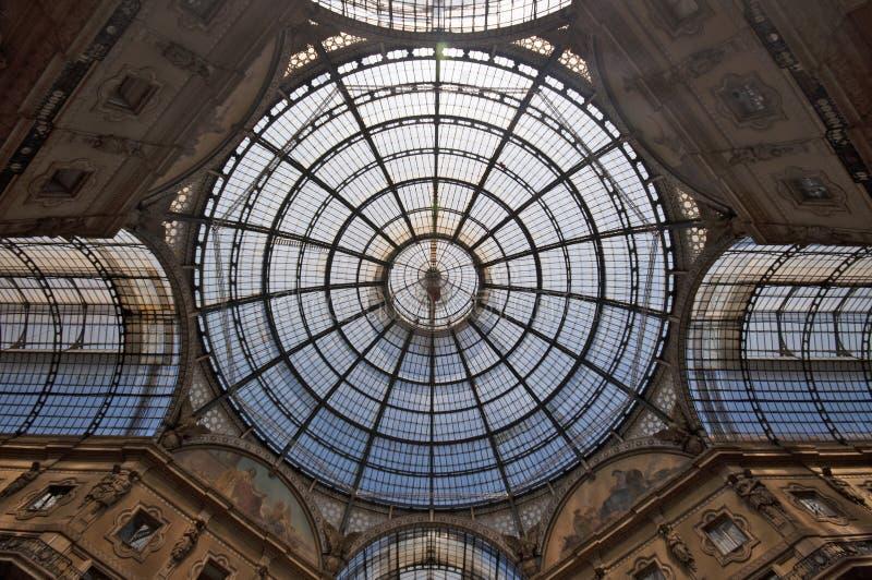 vittorio του Μιλάνου galleria του Emanuele στοκ εικόνες