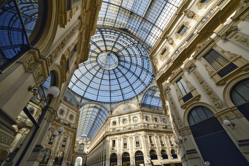 vittorio του Μιλάνου galleria του Emanuele στοκ φωτογραφίες με δικαίωμα ελεύθερης χρήσης