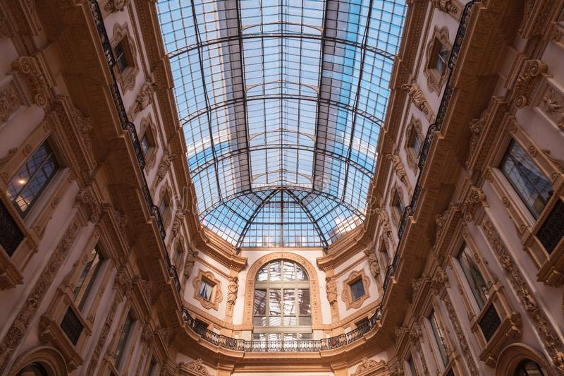 Vittorio Emanuele ΙΙ εσωτερικό στοκ φωτογραφίες με δικαίωμα ελεύθερης χρήσης