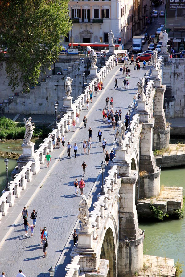 Download Vittorio Emanuele Bridge editorial stock image. Image of river - 21287469