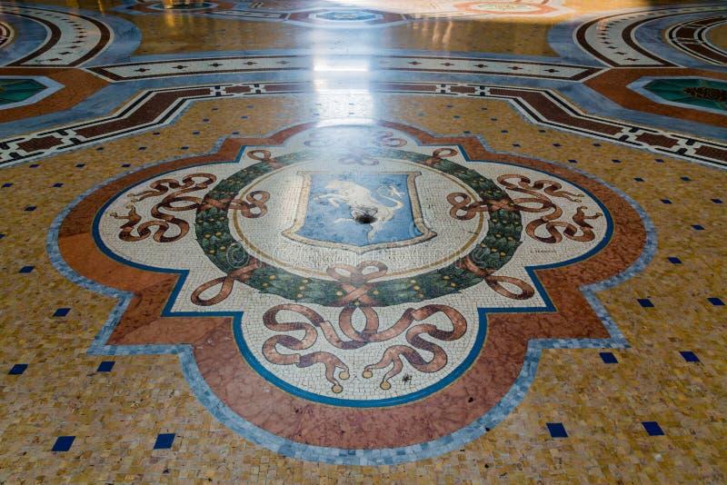 Vittorio Emanuele Gallery van Milaan royalty-vrije stock afbeelding
