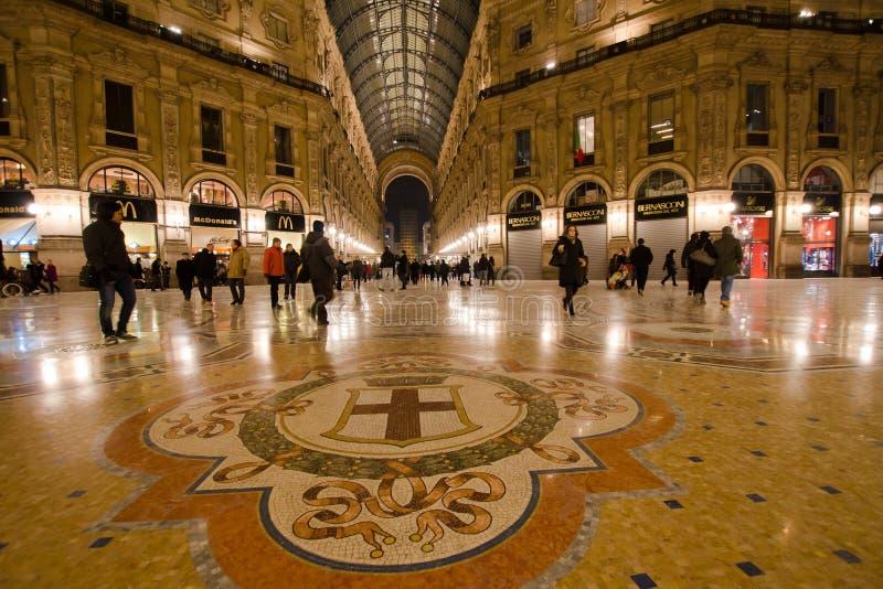 Vittorio Emanuele II royaltyfri bild
