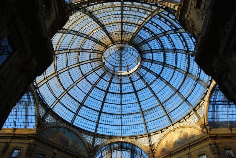 Vittorio Emanuele II Gallery, Milan stock image