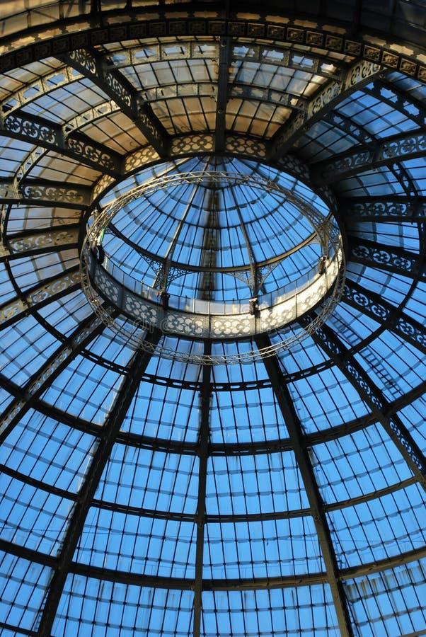 Vittorio Emanuele II Gallery, Milan royalty free stock photos