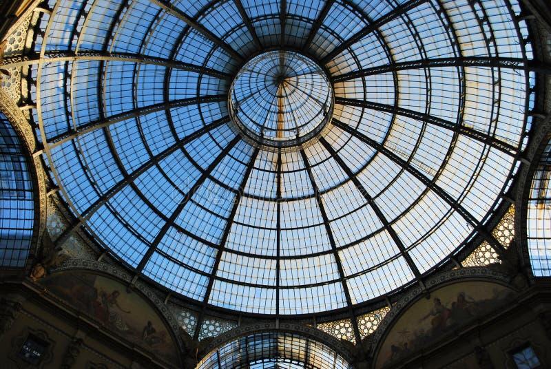 Vittorio Emanuele II Gallery, Milan stock photo