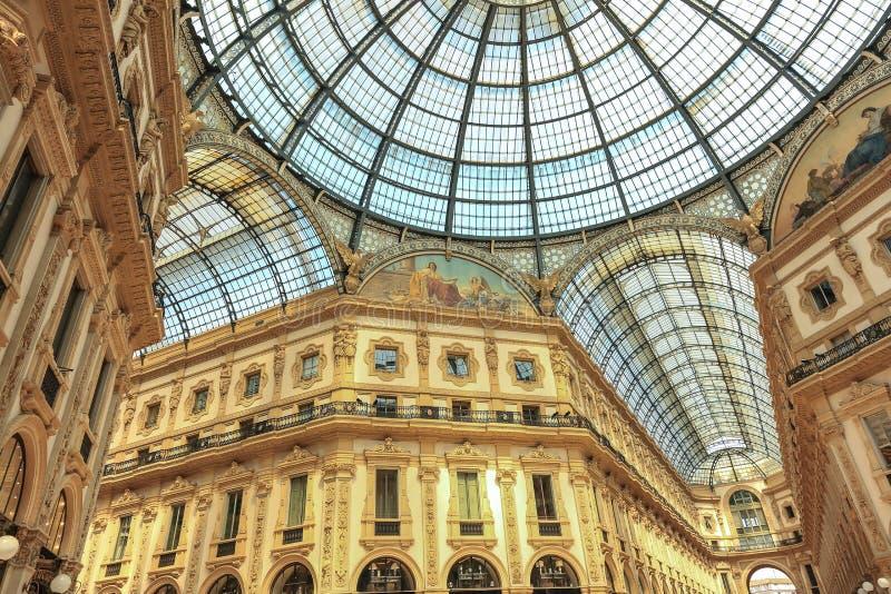 Vittorio Emanuele II Gallery. Milan, Italy stock photo