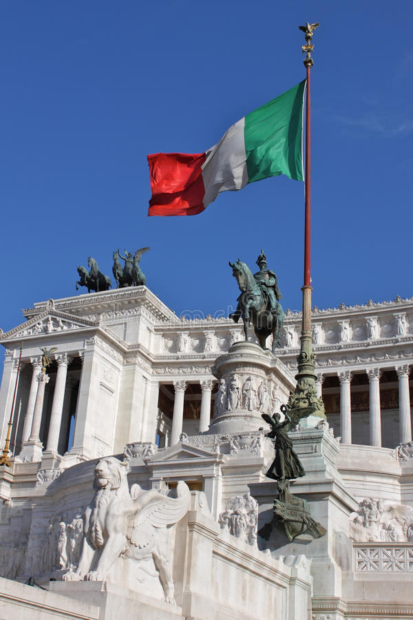 Free Vittorio Emanuele In Rome Royalty Free Stock Images - 19962219