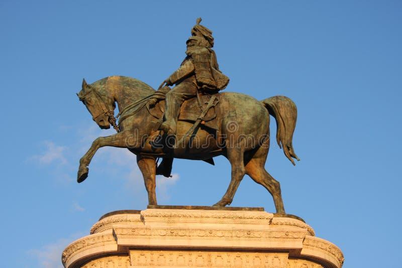 Vittorio Emanuele, The Piazza Venezia in Rome, Italy stock photos