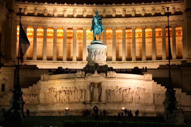 Vittorio Emanuele, The Piazza Venezia in Rome, Italy stock photo