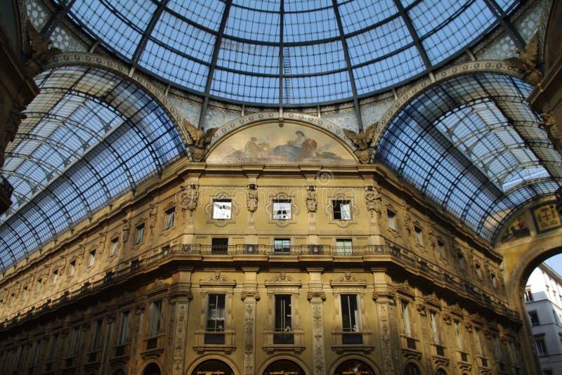 vittorio galleria του Emanuele στοκ φωτογραφία με δικαίωμα ελεύθερης χρήσης