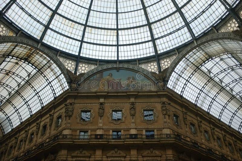 vittorio galleria του Emanuele στοκ εικόνα με δικαίωμα ελεύθερης χρήσης