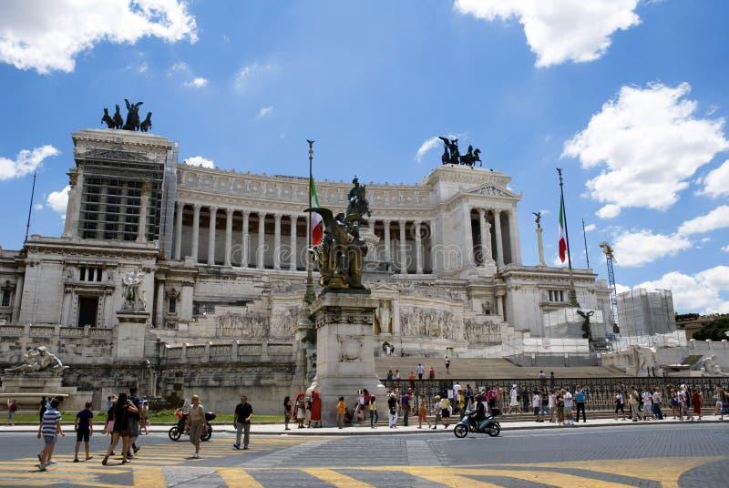 vittorio rome памятника emanuele ii стоковые изображения rf