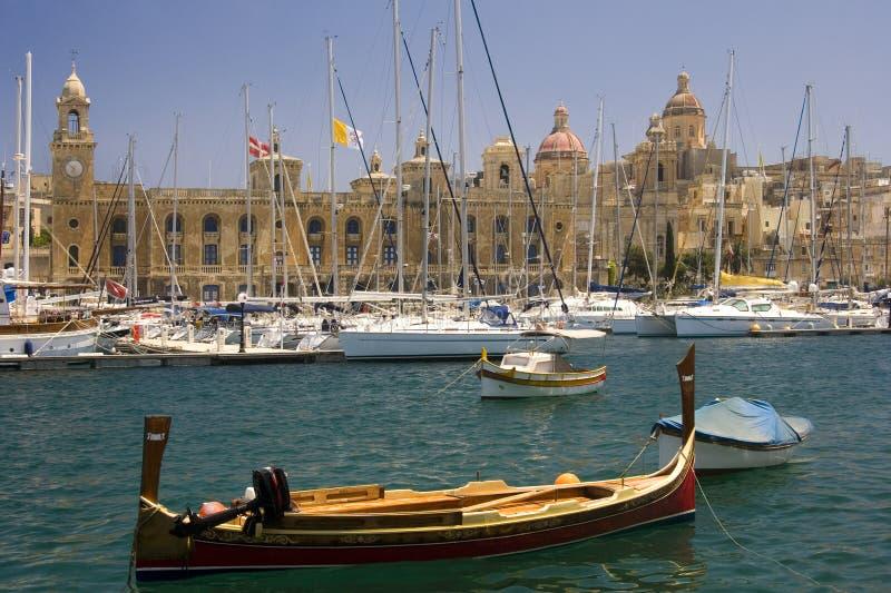 Vittoriosa - Malta imagem de stock royalty free