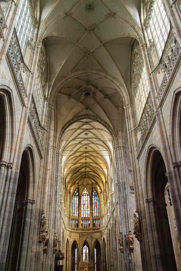 vitus святой prague собора стоковые фото