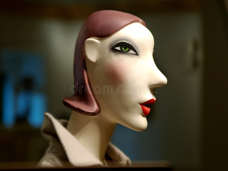Viva Le' Mannequin 2 stock photos