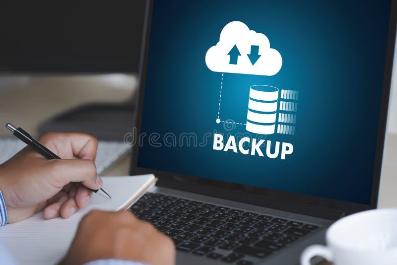 VIVA SCORRENDO il download di sostegno che computa il transferri di dati di Digital fotografia stock