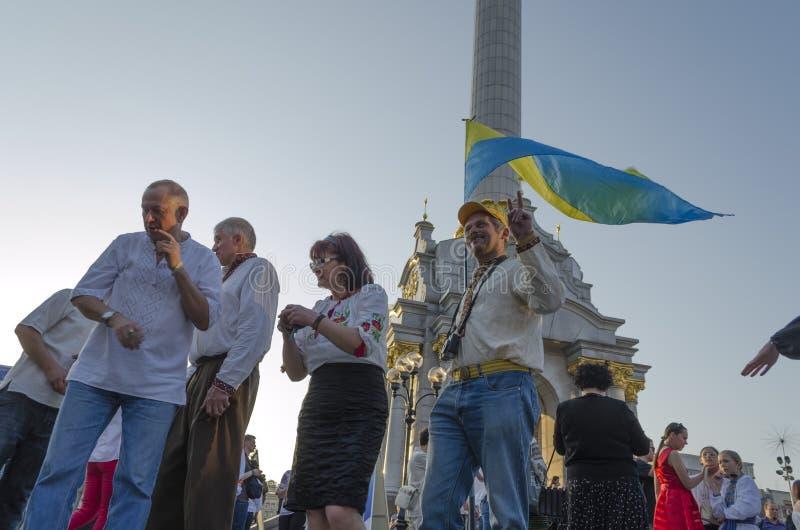 Viva Ukraine photo libre de droits