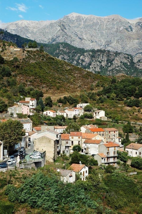 Vivario Village, Corsica Royalty Free Stock Images