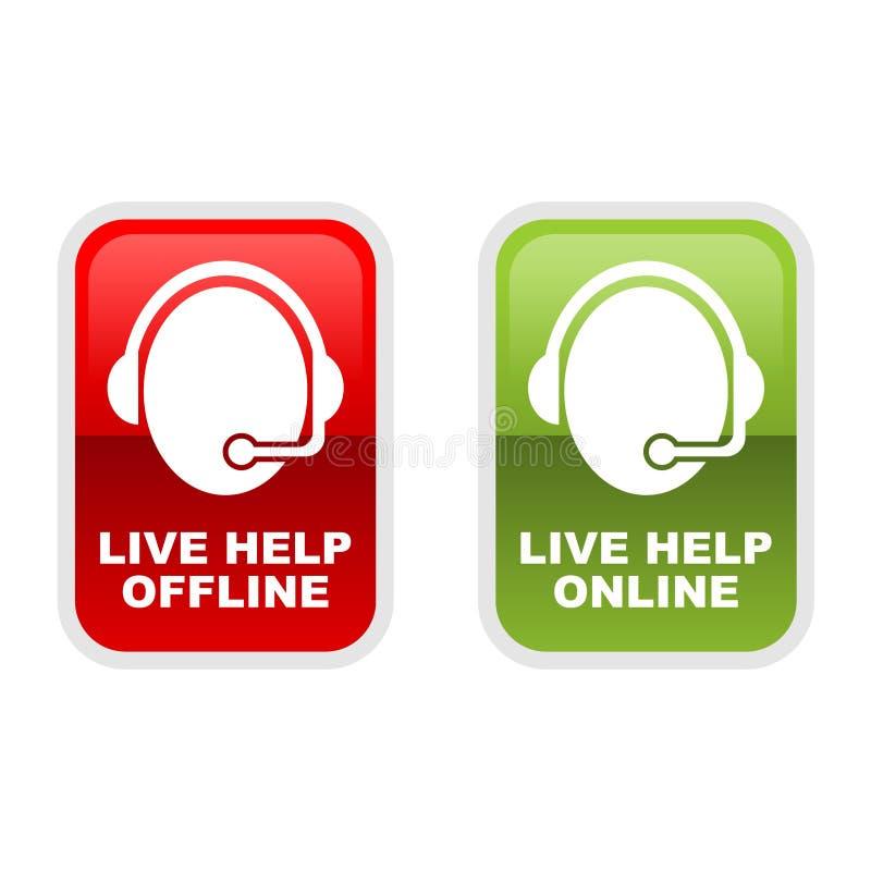 Vive la ayuda libre illustration