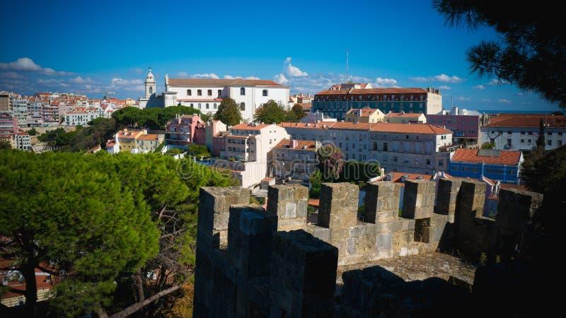 Vivendo a Lisbona fotografie stock