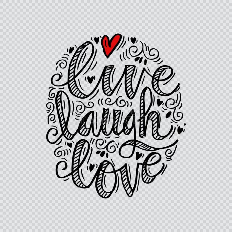 Download Vivent l'amour de rire illustration stock. Illustration du inspiré - 87708616