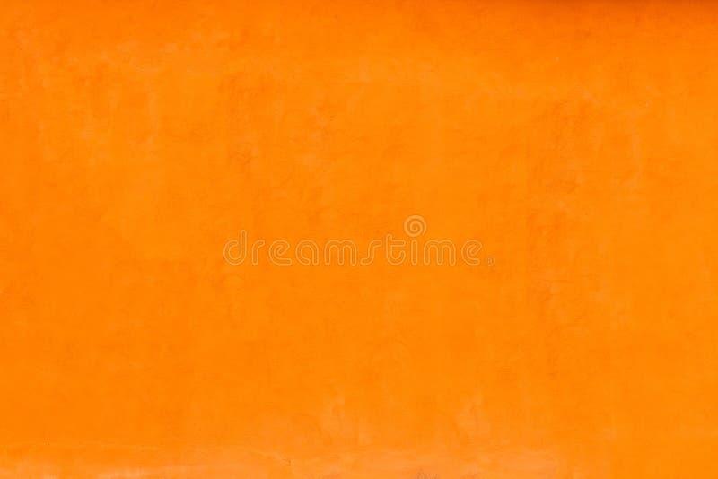 Download Vivid Bright Orange Color Facade Wall Stock Photo