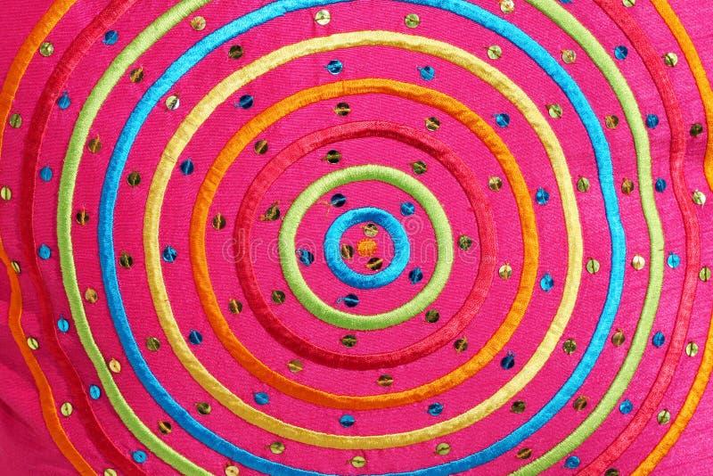 Download Vivid circles stock image. Image of pink, textile, colorful - 6810213