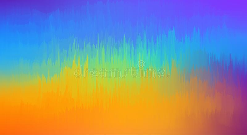Vivid color abstract background dynamic texture graphics. Colorful wave background watercolor abstract texture art. Computation background colo. Abstract royalty free illustration