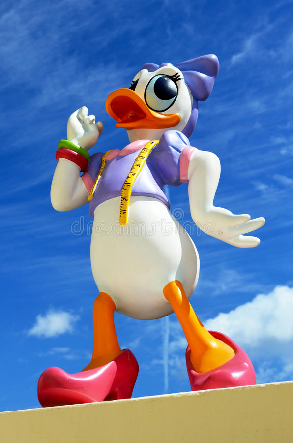 Download Disneys Daisy Duck editorial stock image. Image of character - 30122079