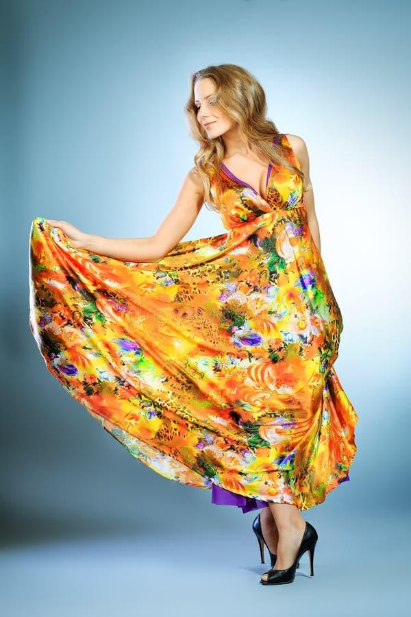 Download Vivid dress stock photo. Image of dance, dancing, hair - 28344738