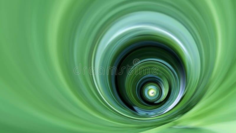 Vivid Green Swirl Background 16x9 royalty free stock photography