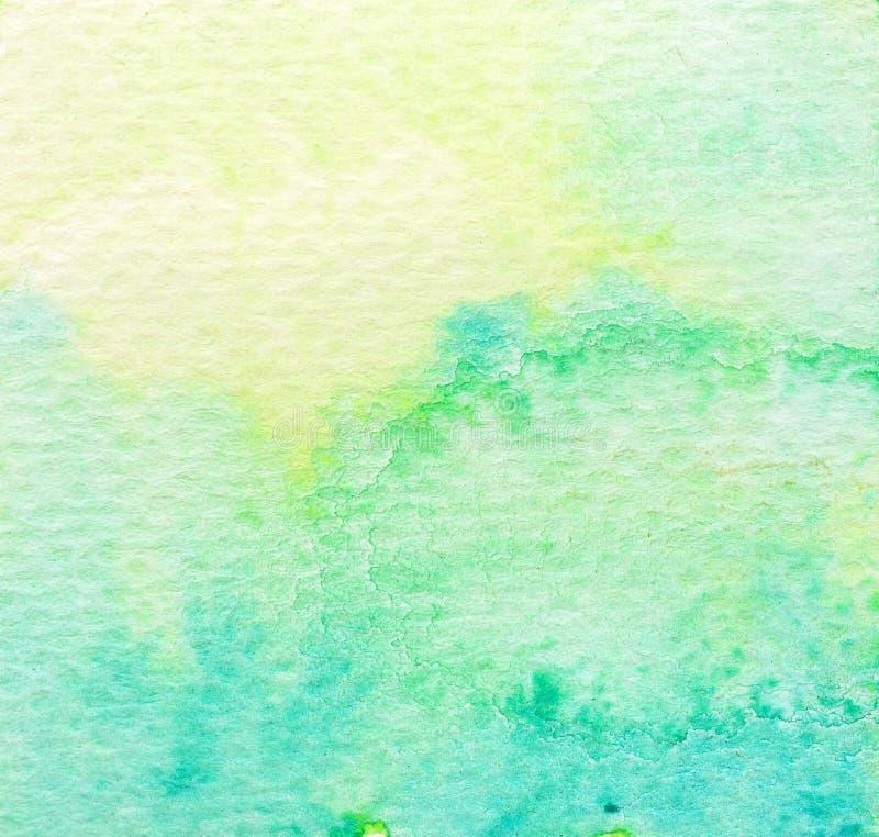 Vivid green watercolor background. Vivid lime green watercolor background stock illustration